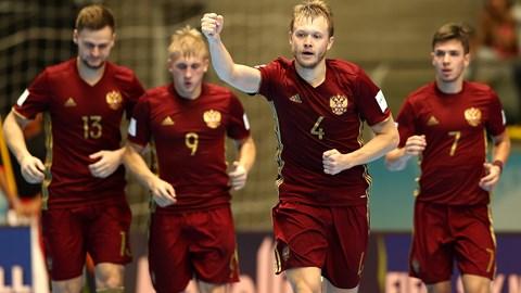 Mundial de Futsal Rússia avança