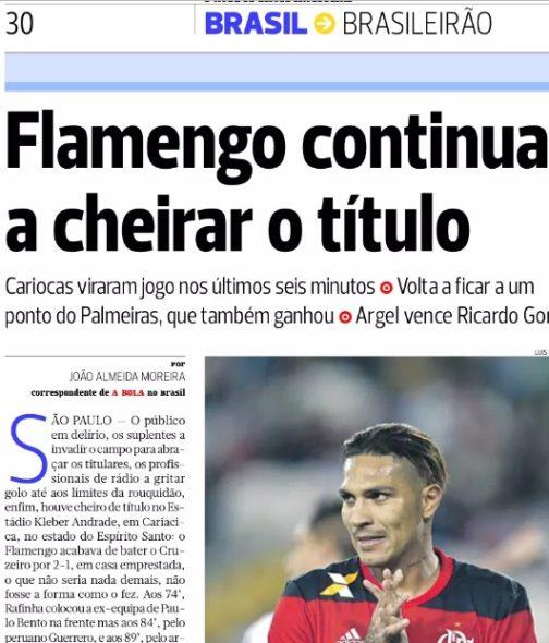 A Bola Flamengo