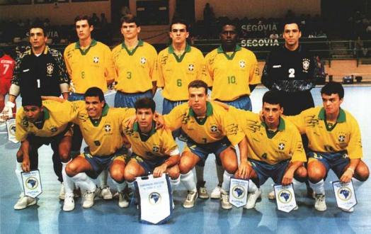 Mundial de Futsal  em 1996 o Brasil chega ao Tri  feb2d2afd5b90
