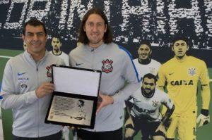 Reprodução/Twitter Oficial Corinthians