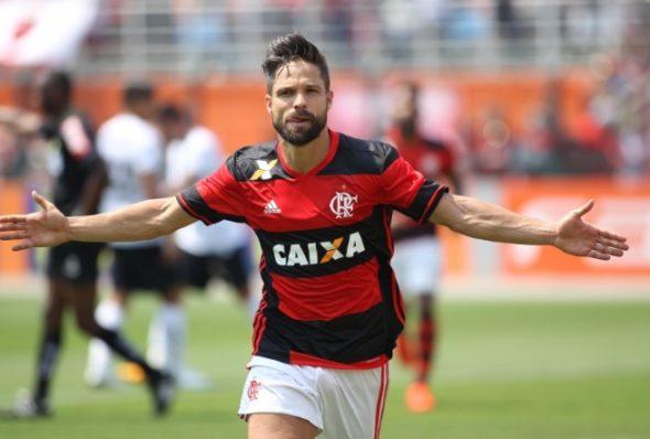 Diego - Foto: Gilvan de Souza / Flamengo