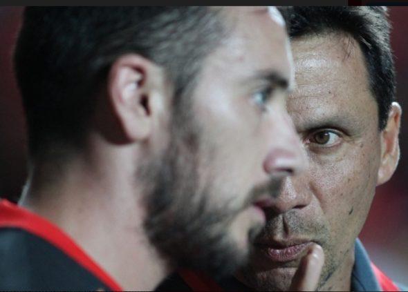 Zé Ricardo e Mancuello - Foto: Gilvan de Souza / Flamengo
