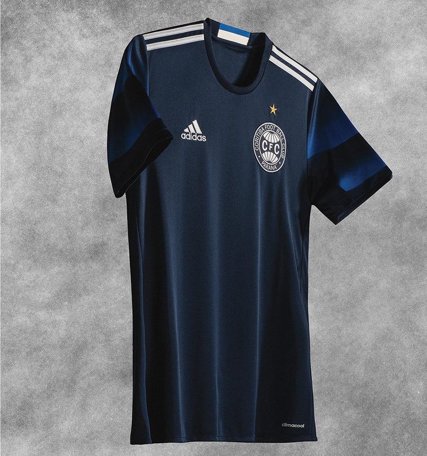 Camisa 3 do Coritiba celebra o título Fita Azul - Crédito da foto: Divulgação/Adidas