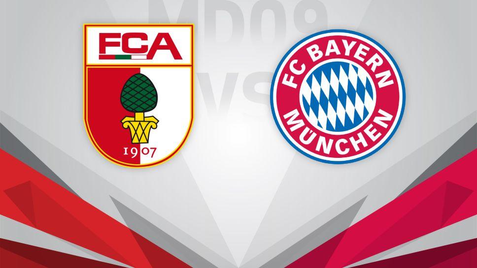 Resultado de imagem para Augsburg x Bayern de Munique
