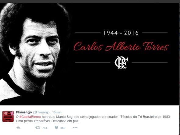 Carlos Alberto Torres Flamengo
