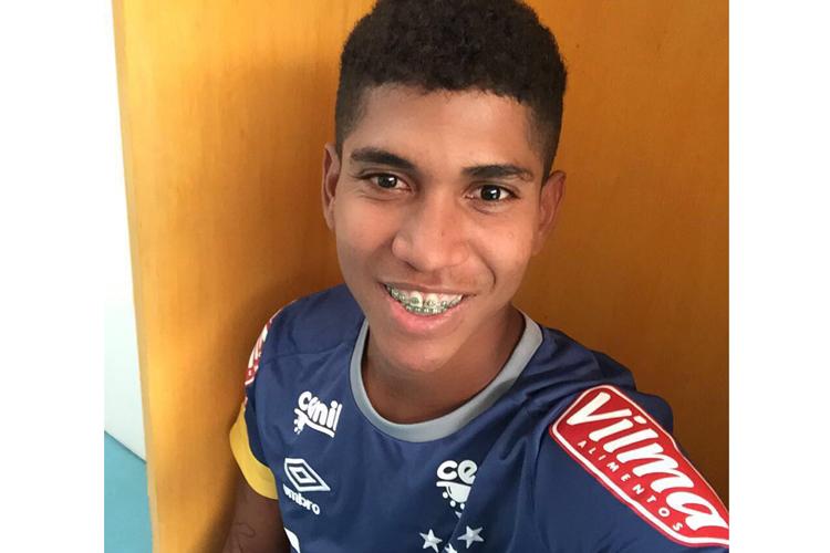 Raniel chegou ao Cruzeiro após destaque no Santa Cruz (Foto: Divulgação)