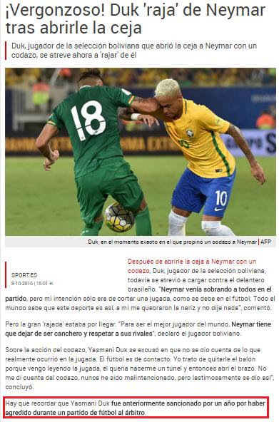 Foto: Reprodução Site/www.sport.es