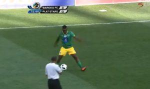 ousadia no campeonato africano