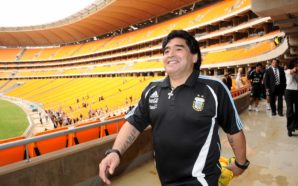 Crédito da imagem: 2010 FIFA World Cup Organising Committee South Africa  / Site oficial Maradona