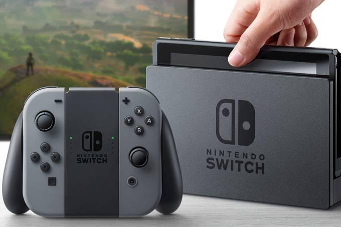 Nintendo Switch a nova aposta da Nintendo