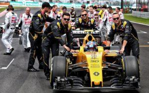 Reprodução/ Facebook Renault Sport Formula One Team
