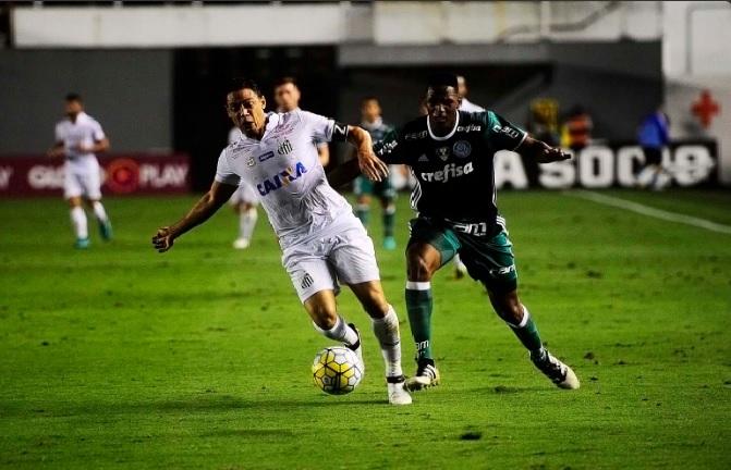 Reprodução/Twitter Santos Futebol Clube