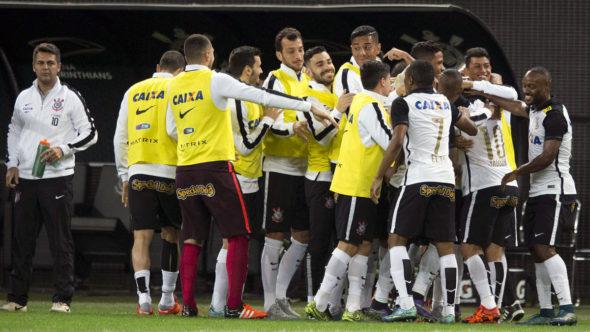 Campeonato Brasileiro 2015 Corinthians/SP x Coritiba/PR