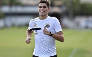 De volta aos treinos, Vitor Bueno já tem previsão de retorno ao Santos
