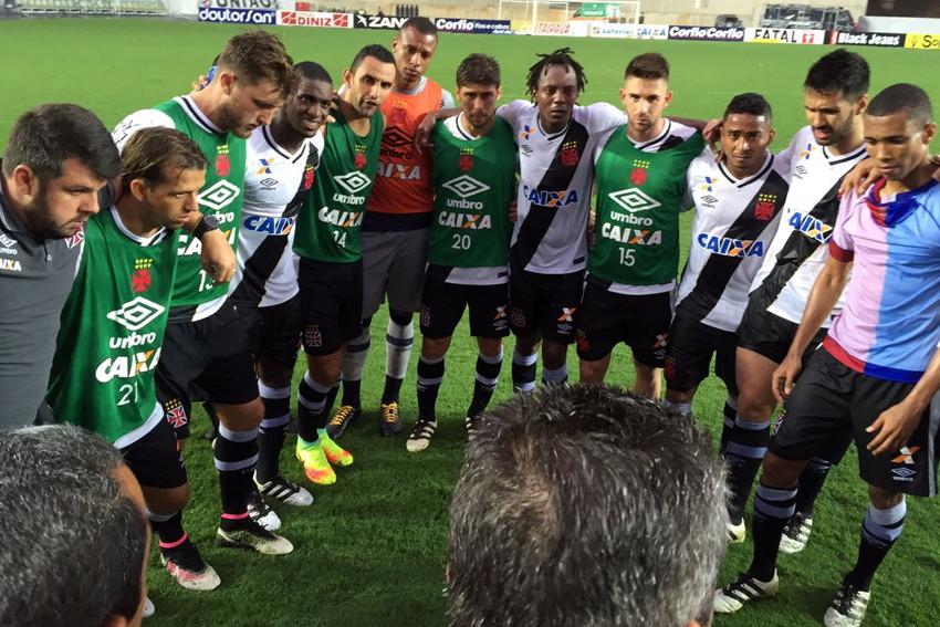 Jogadores do Vasco exaltam reencontro com as vitórias na Série B