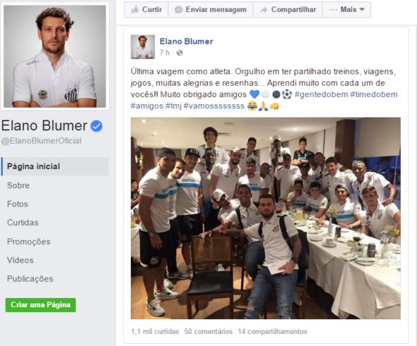 Elano Facebook Oficial