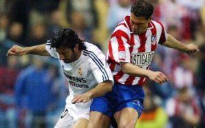 Luis Figo disputa clássico de Madrid