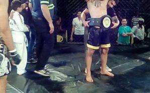 Patrick Belmonte (Equipe Ifenix) conquistou o cinturão até 75kg diante de Matias Ybanez (Team Salazar) com uma finalização (katagatame) aos 2:45 do 2º round;