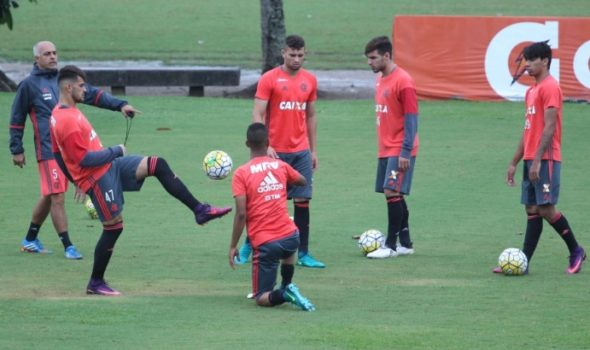 Algumas promessas do Fla - Foto: Gilvan de Souza / Flamengo