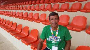 Ramon Pereira, coordenador de esportes escolares do CPB. Carlos Lemes Jr/Torcedores.com
