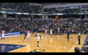 NBA: Curry acerta cesta de três do outro lado da quadra mas pontos não valem