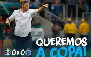Grêmio é finalista da Copa do Brasil e vai ganhar das galinhas apoiadas por esses paulistas de merda