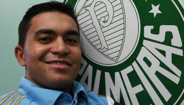 Dudu escolheu o Palmeiras após longa conversa. Foto: César Greco / Ag. Palmeiras