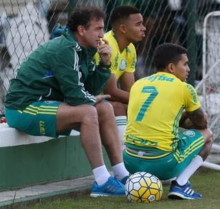 Dudu e Gabriel Jesus podem ser desfalques de Cuca na última rodada/ Palmeiras