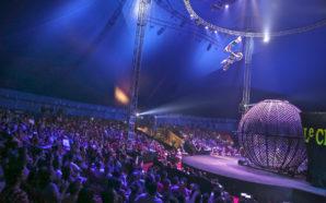 Pedro Nougalli impressiona público que comparece às sessões do Le Cirque Amar - Crédito: Laudemir Nogueira
