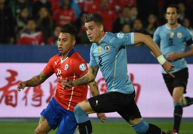 Chile x Uruguai: assista os gols