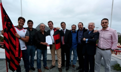 site oficial do Flamengo