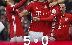 Crédito da foto: Reprodução\ Facebook oficial do Bayern de Munique