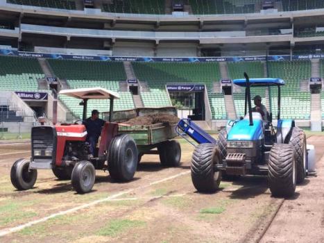 Trabalhos no Allianz Parque começaram na última quinta-feira. Foto: Divulgação