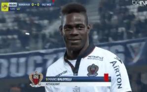 Balotelli leva soco, revida com pontapé e é expulso em jogo do Nice;