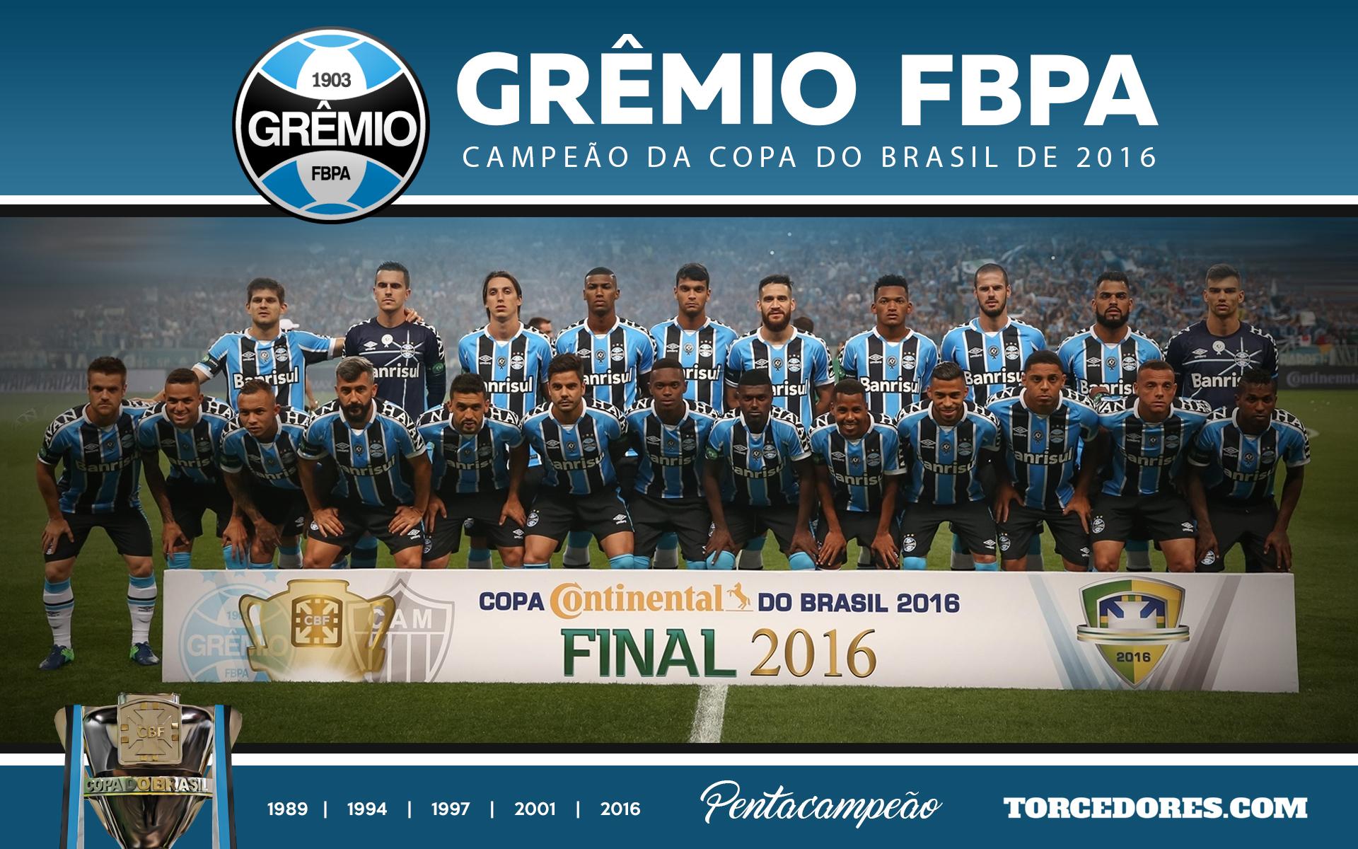 Grêmio campeão  baixe o pôster da conquista da Copa do Brasil 58c9fceb9f7fb