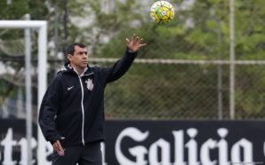 Fabio Carille tecnico no TREINO CORINTHIANS