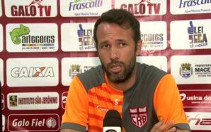 Gabriel revelou gratidão por Mário Sérgio, que lhe lançou como profissional (Foto: Ascom CRB)