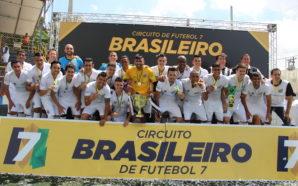 Santos FC F7 Campeão Brasileiro 2016 (Foto: Raquel Costa/IAF7)