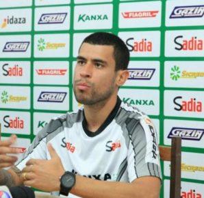 Sérgio Mota é anunciado como novo meia do CRB (Foto: Ascom Luverdense)