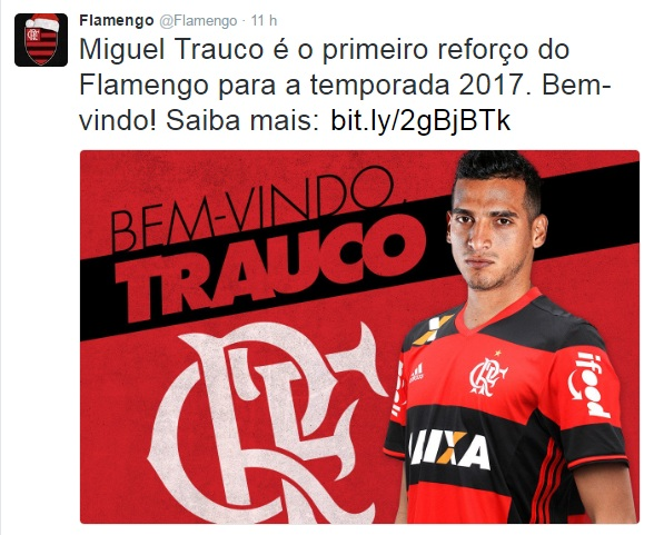 Trauco do Flamengo