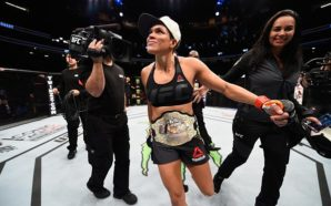 Amanda Nunes, vencedora UFC 207
