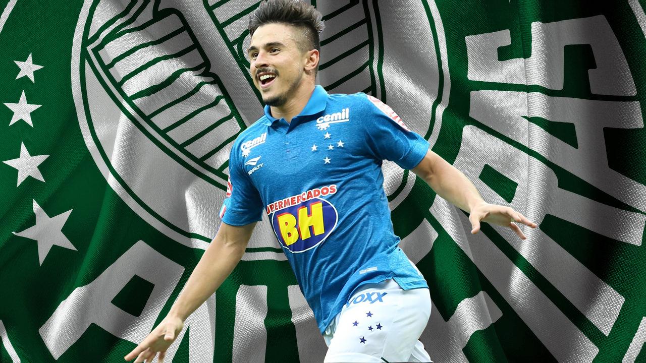 Fabiano sofre prejuízos por conta de desacerto entre Palmeiras e Cruzeiro