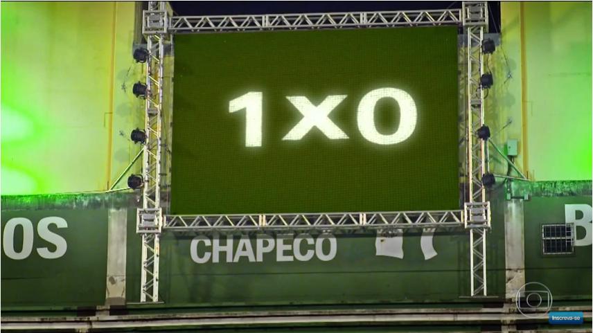 Fantástico homenageia Chapecoense com simulação da final da Sul-Americana narrada por Galvão Bueno; veja