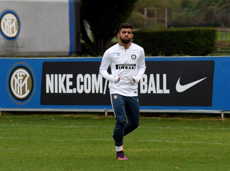Foto: Reprodução/ Facebook - Gabigol foi vendido à Internazionale, mas pouco usado até agora.
