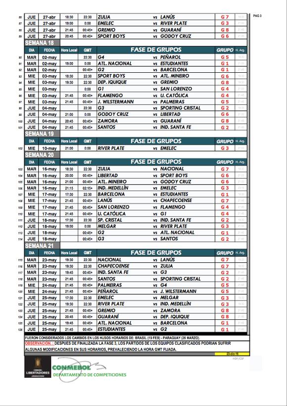 Calendário - Página 3