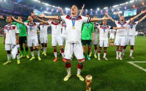 Alemanha festeja triunfo no Brasil em 2014