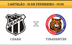 Ceará x Tiradentes
