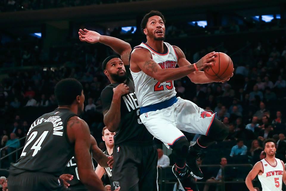 """NBA: Derrick Rose não dá notícias e """"some"""" antes de jogo do Knicks"""