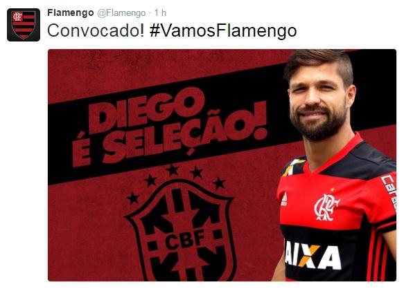 Diego convocado