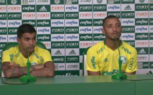 Dudu e Vitor Hugo elogiam postura de Felipe Melo em chegada ao Palmeiras